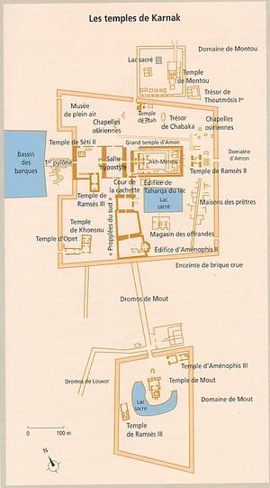 Egypte Croisi 232 Re Sur Le Nil Plans Des Temples De
